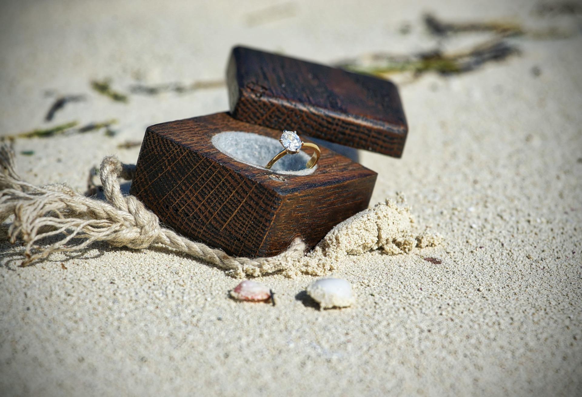 Clean a diamond ring