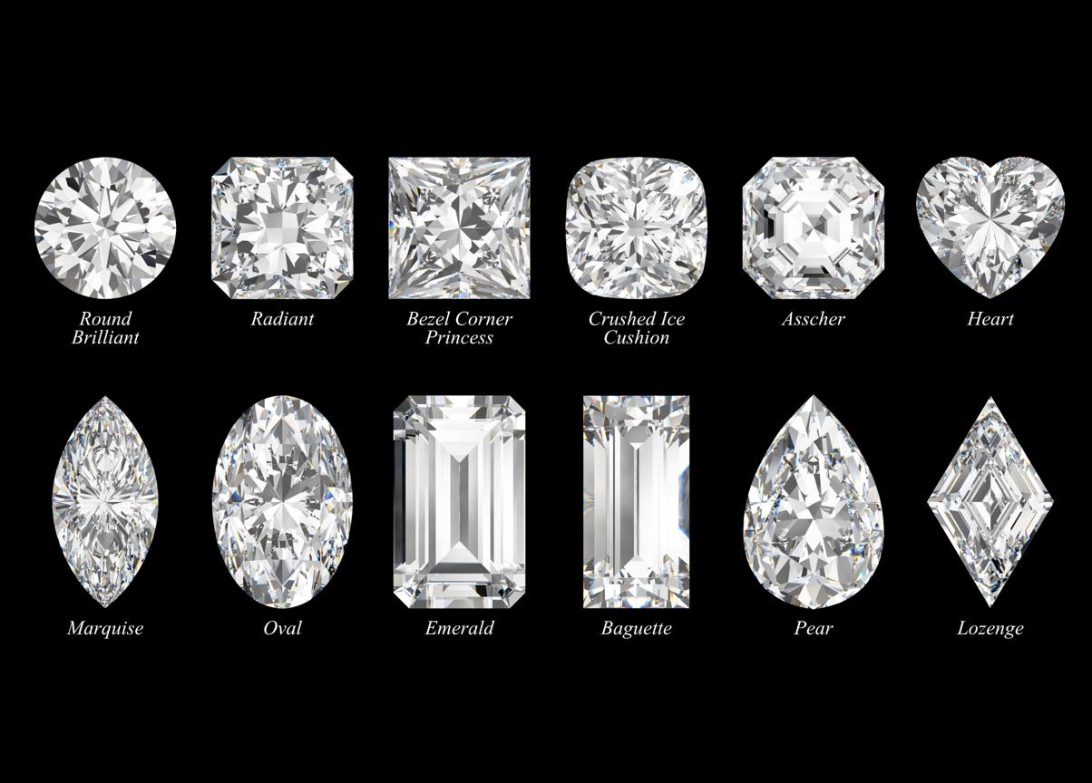 Formes du diamant