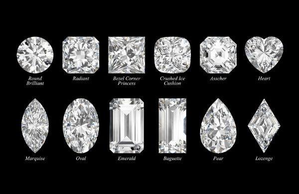 Diamond's shapes