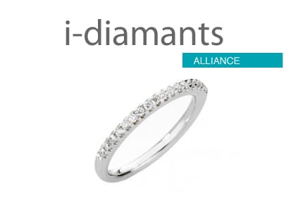 alliance diamant demi tour
