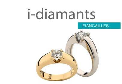 Solitaire diamant fiancailles