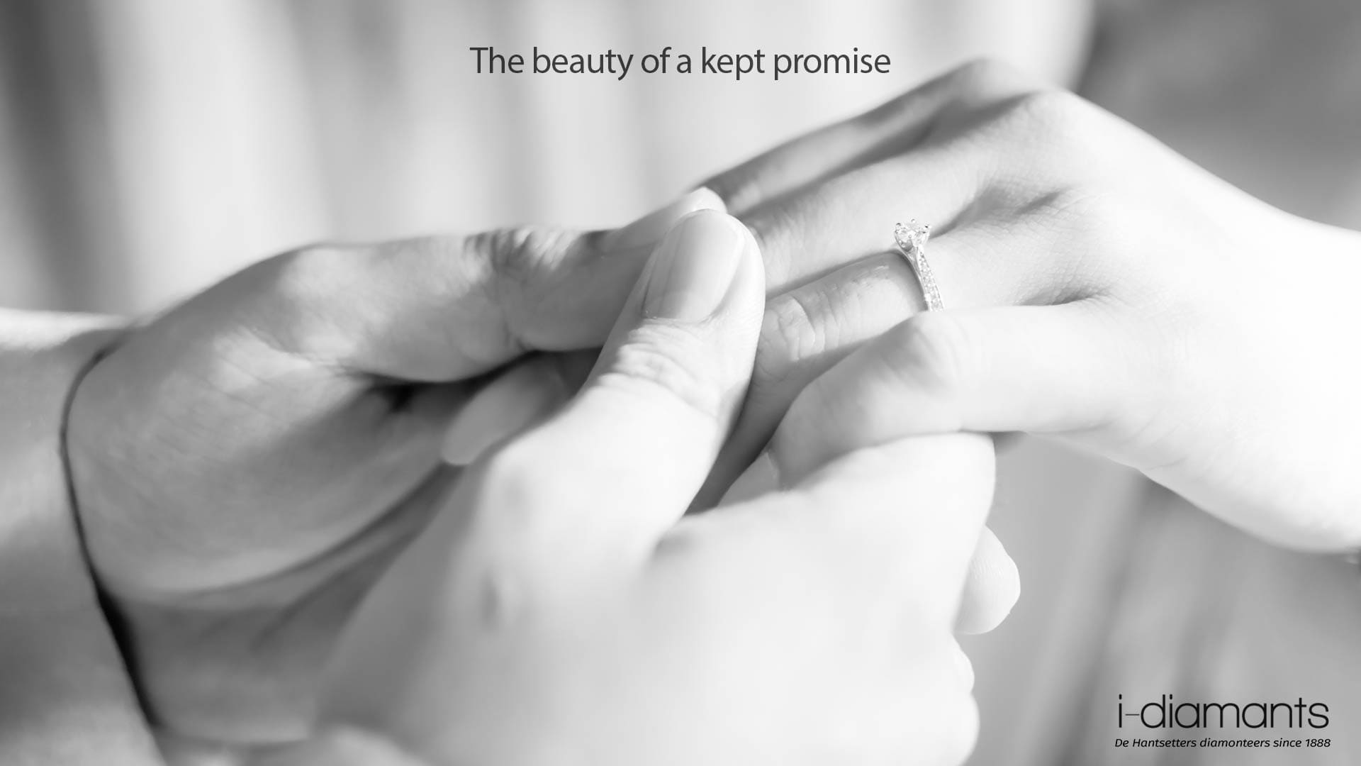 the beauty of a kept promise