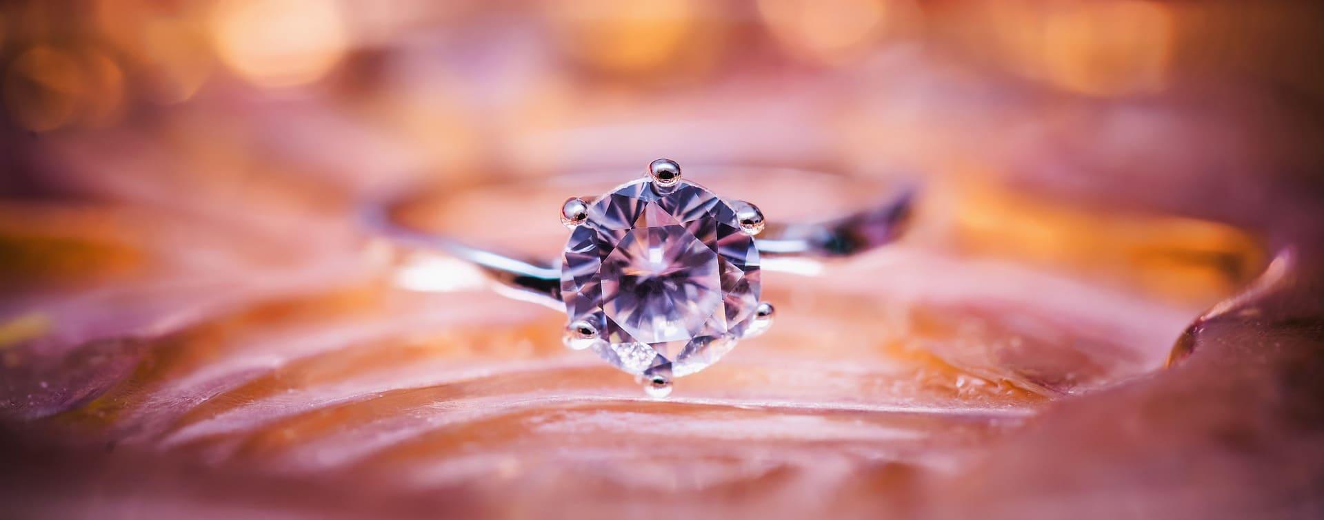 Achat Bague fiancailles diamant