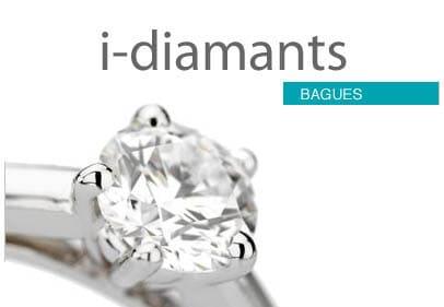 Bague diamant sertie griffes