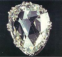 Diamant poire Le Sancy