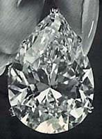 Diamant poire Taylor-Burton 69 carats