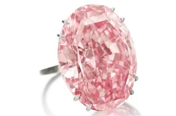 diamant rose Pink Star
