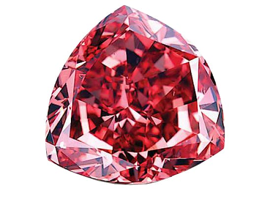 Diamant rouge Moussaieff Red