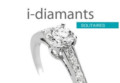 Solitaire diamant premium