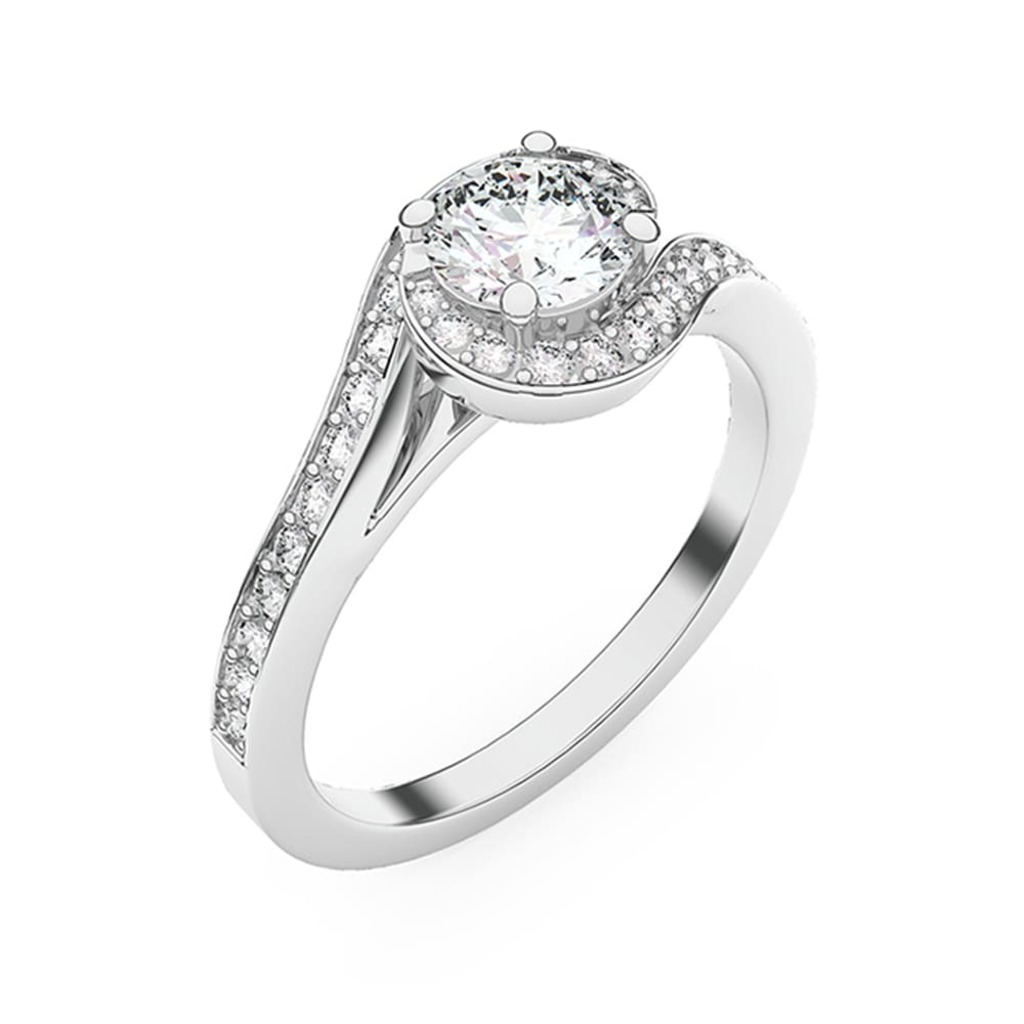 Ring Classics Diamond KISS ME