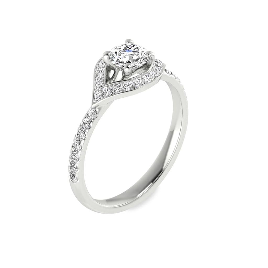 Bague  Classique  Diamant FLECHE D'AMOUR