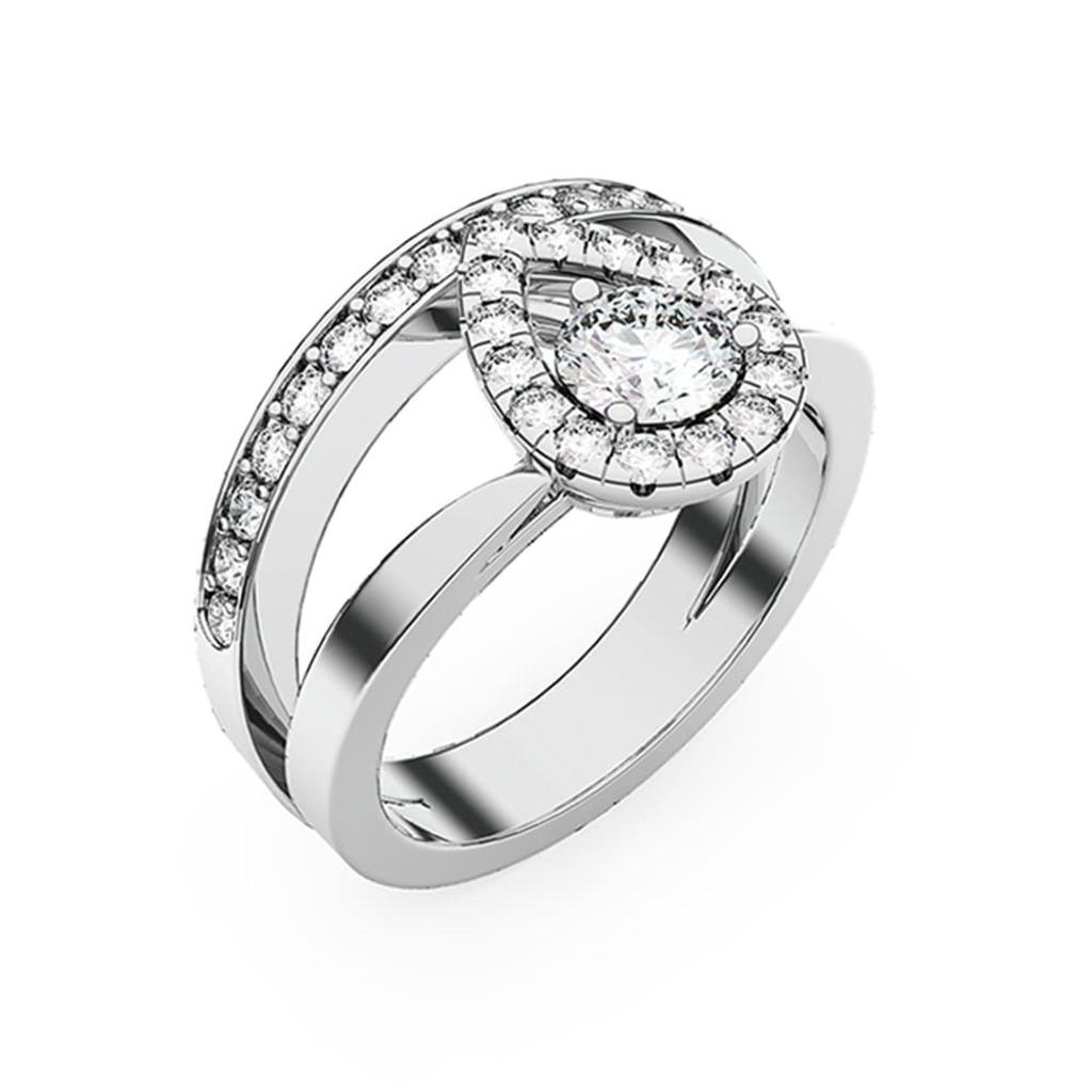 Bague  Classique  Diamant L'UN POUR L'AUTRE