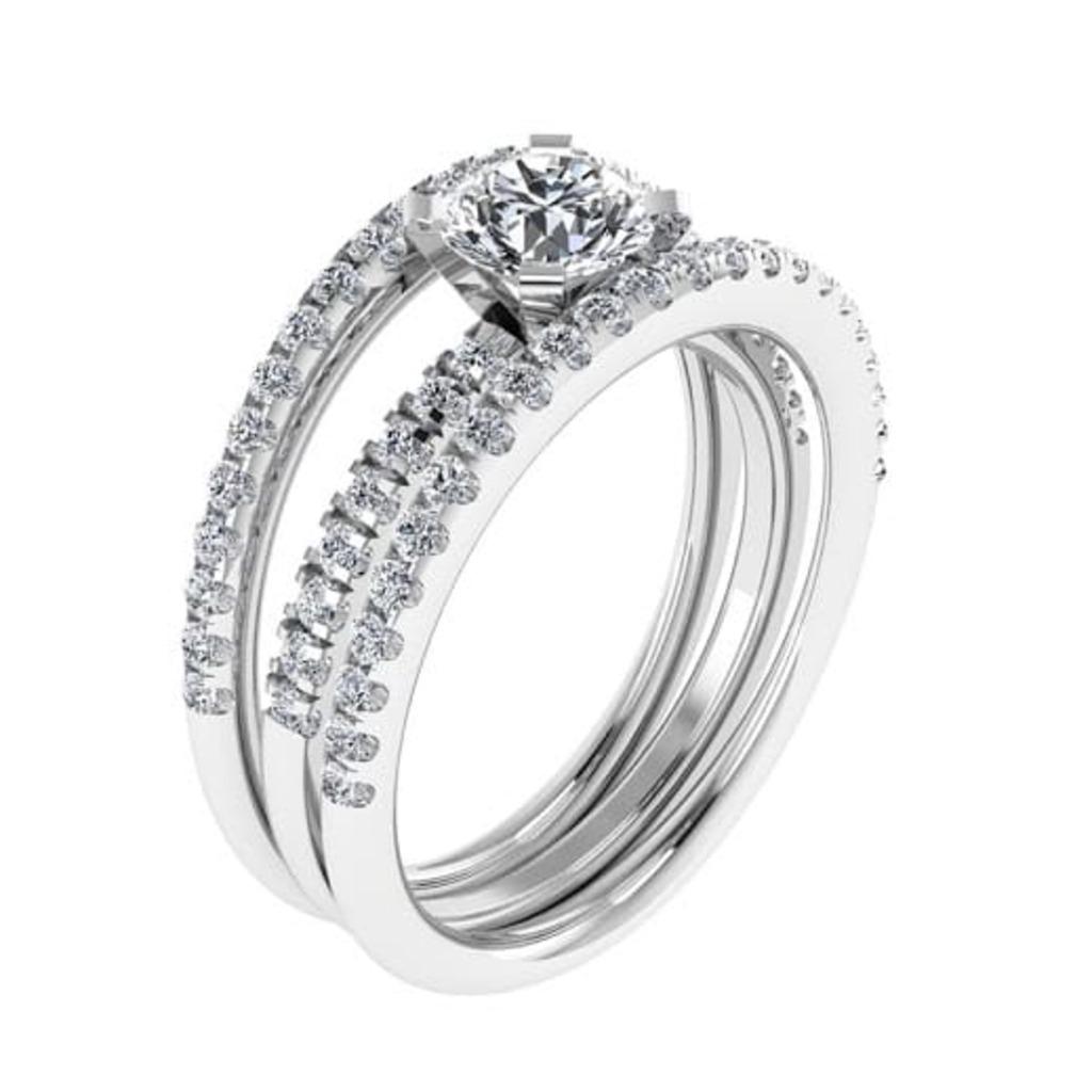 Bague  Classique  Diamant PASSION
