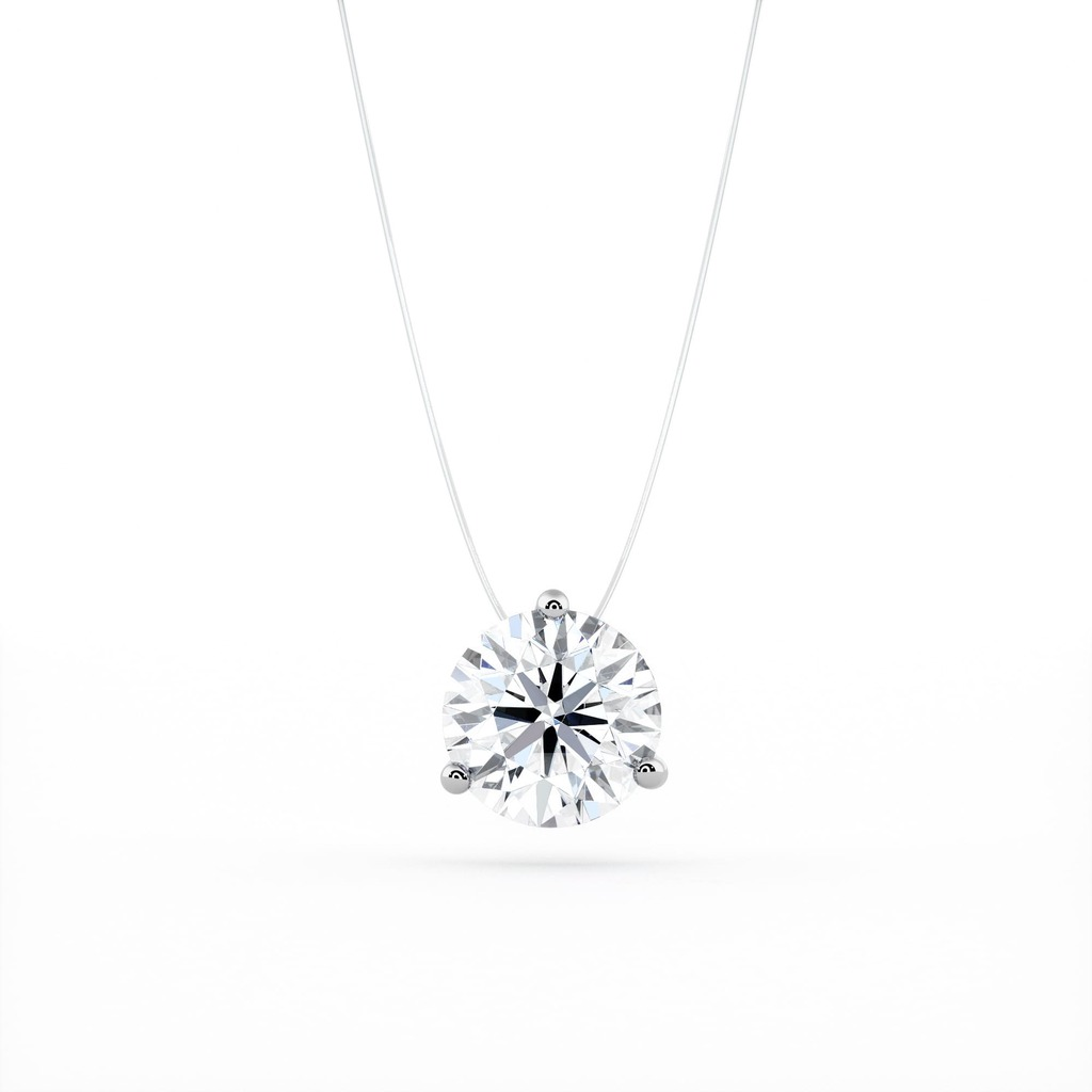 Pendant & Necklace Classics Diamond Fishing wire