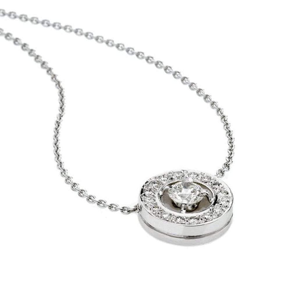 Pendentif Classique  Diamant pavé, CERCLE DES POETES