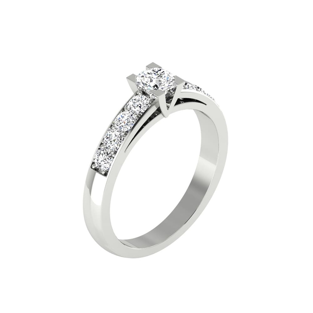 Engagement ring Paved  Diamond VISION