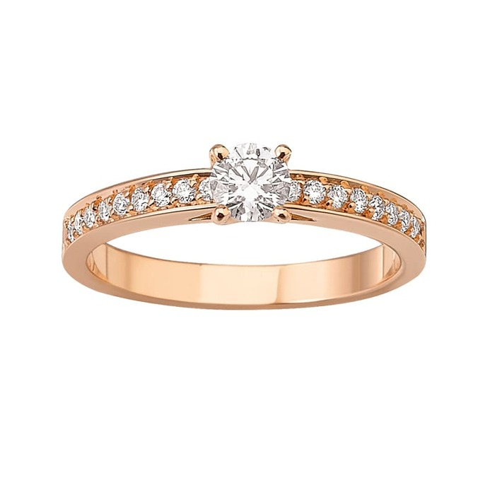 purchase Ring Classics Diamond Gold Pink Gold