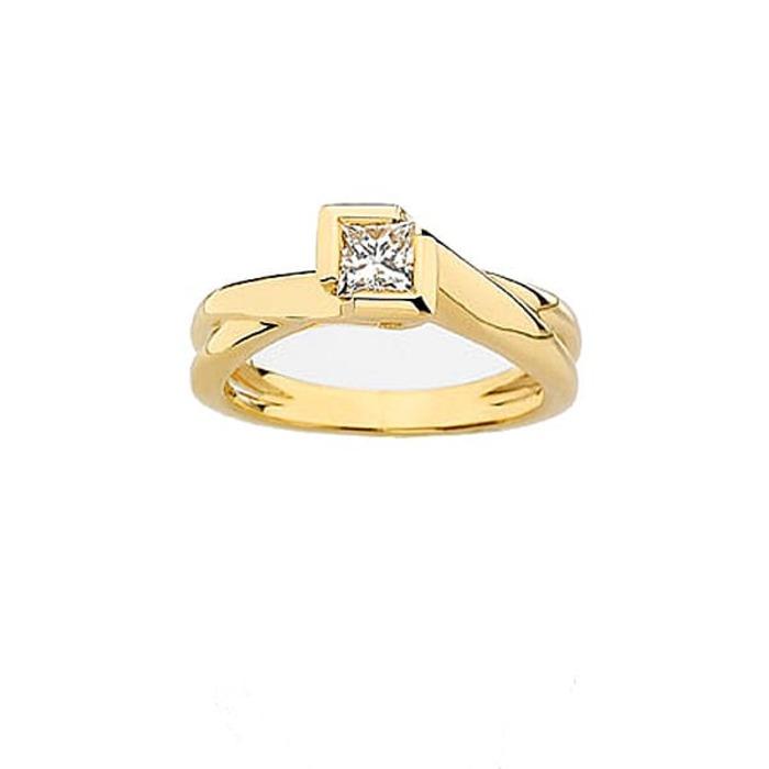 purchase Ring Classics Diamond Gold Princess NOVA