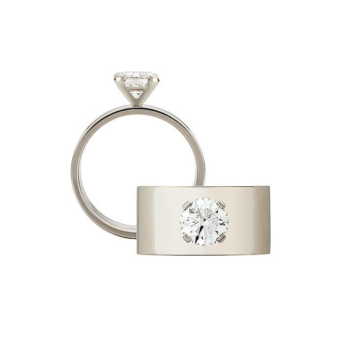 purchase Ring Designer jewellery Diamond Gold EVIDENCE by Daniela Baumgartner