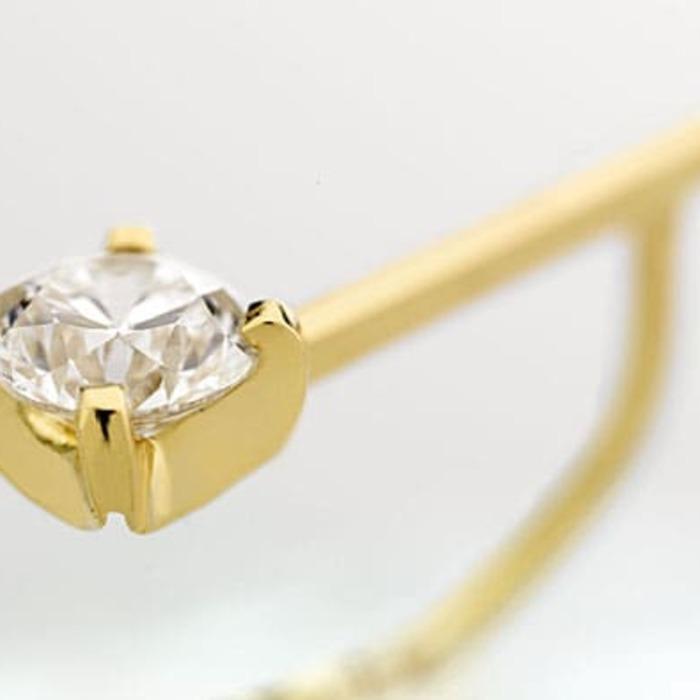 achat Boucles d'Oreilles  Créateurs Diamant or VENITIENNES