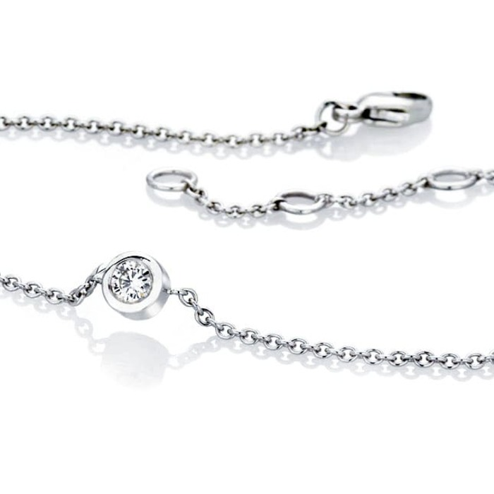 achat  Bracelet  Diamant or serti clos ETERNITE