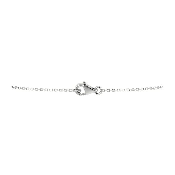 achat Pendentif Classique  Diamant or entourage, POIRE