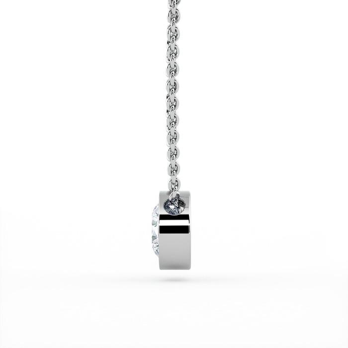 achat Pendentif Classique  Diamant or serti clos ETERNITE