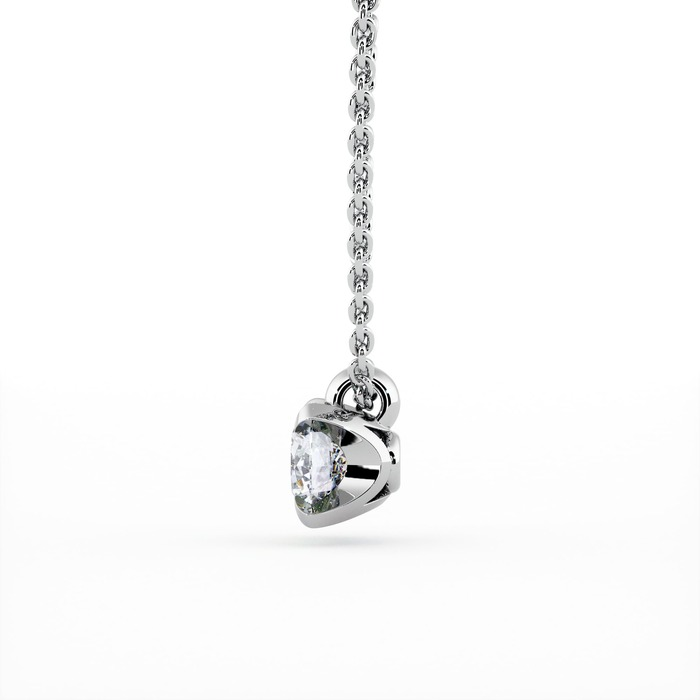achat Pendentif Classique  Diamant or serti griffes BERCEAU