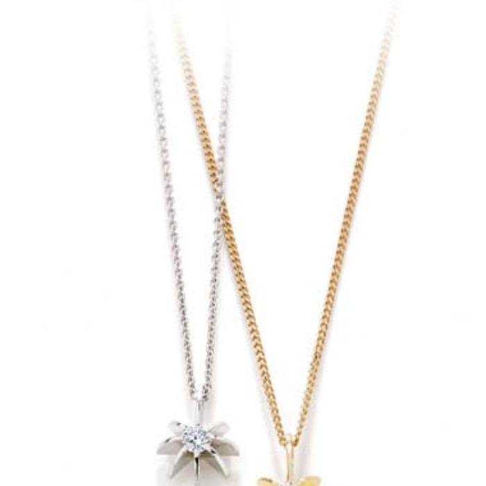 purchase Pendant & Necklace Designer Jewellery Diamond Gold BRILLIANT SUN 0.20