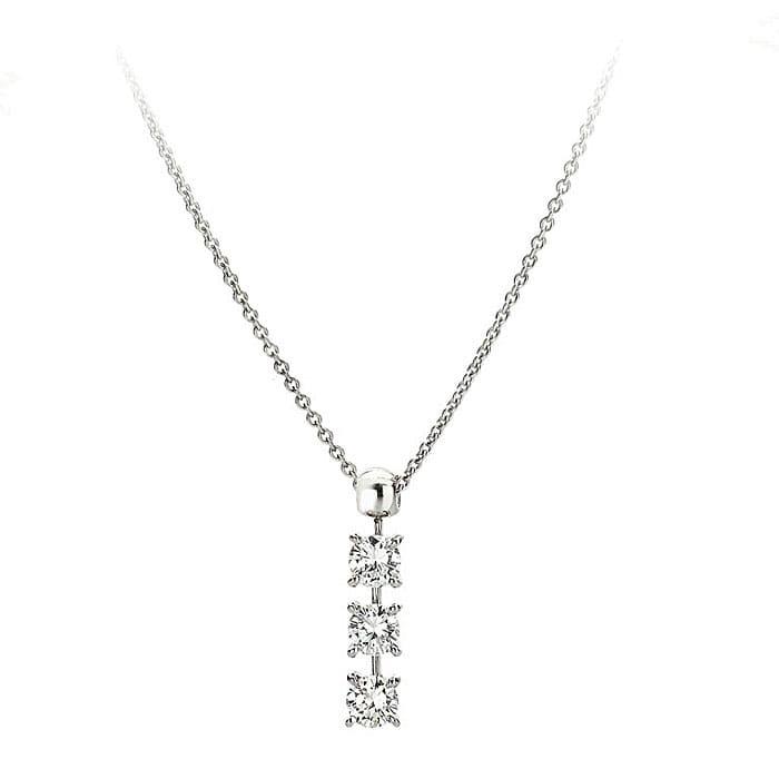 purchase Pendant & Necklace Trilogy Diamond Gold TRILOGY 3