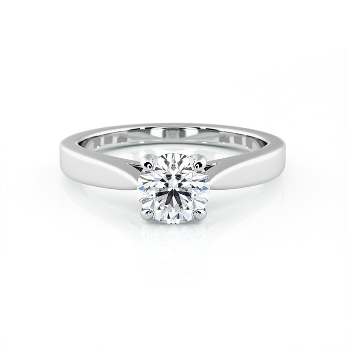 purchase Engagement ring Paved  Diamond Gold DIAM