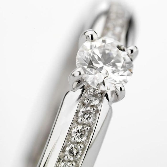 achat Solitaire  Classique avec pavage  Diamant or NOSOLO Pavé