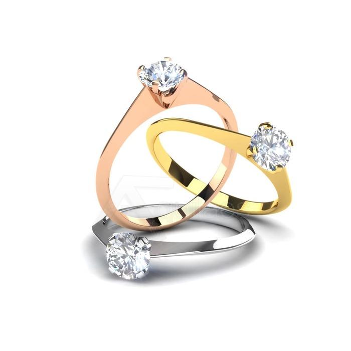 purchase Engagement ring Classics Diamond Gold DESTINY