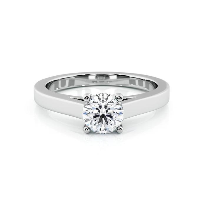 achat Solitaire  Classique  Diamant or Karma 4 Griffes