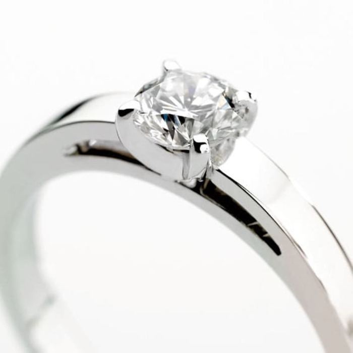 purchase Engagement ring Classics Diamond Gold PLATINEA Berceau