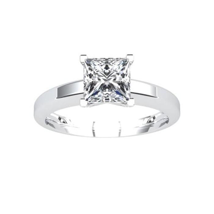 achat Solitaire  Classique  Diamant or Princesse Royale