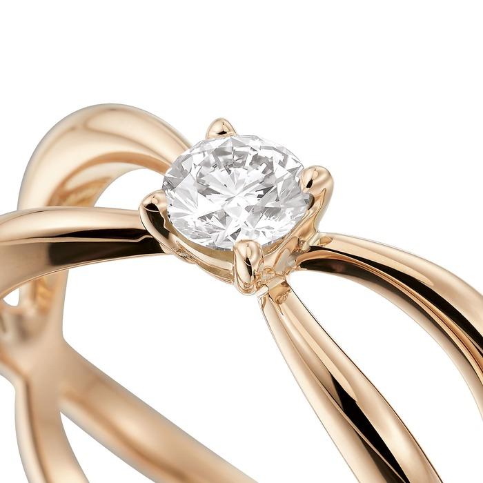 achat Solitaire  Créateurs Diamant or LA VIE EN ROSE