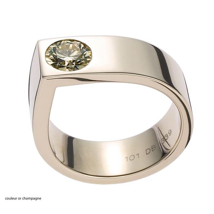 achat Solitaire  Créateurs Diamant or SOLISTE 62 de Daniela Baumgartner