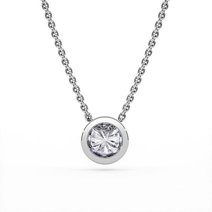 acheter Pendentif Classique  Diamant or serti clos ETERNITE