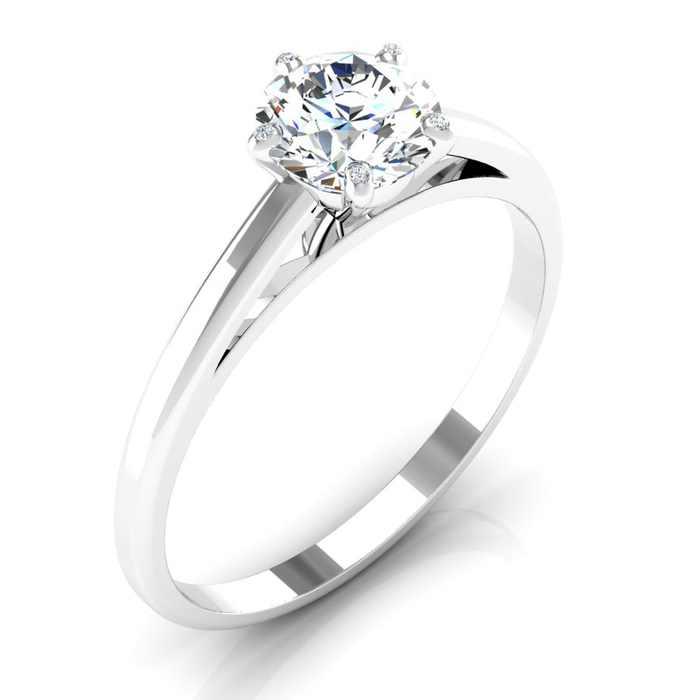 buy Engagement ring Classics Diamond Gold 5 Claws Classic