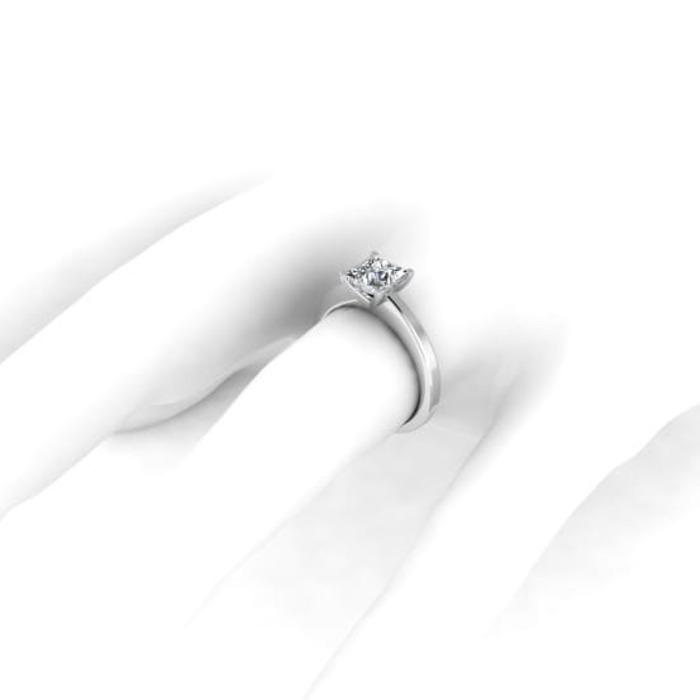 acheter Solitaire  Classique  Diamant or Princesse Royale