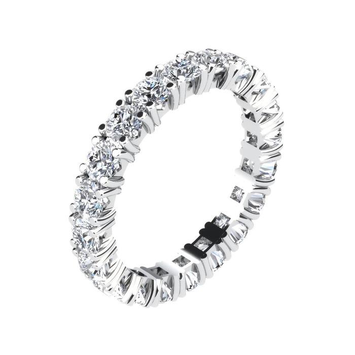 Wedding Band Full set  Diamond Gold 4 Claws
