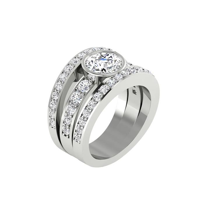 Ring Classics Diamond Gold DIAMANIA