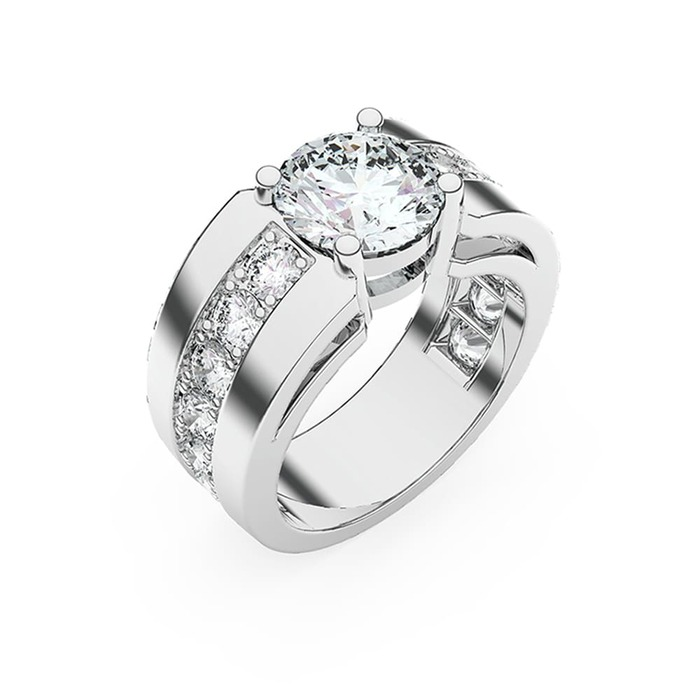 Ring Classics Diamond Gold FOR EVER YOURS