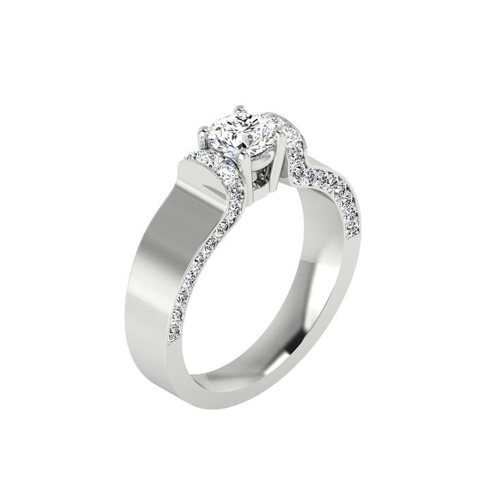 Ring Classics Diamond Gold THRILL