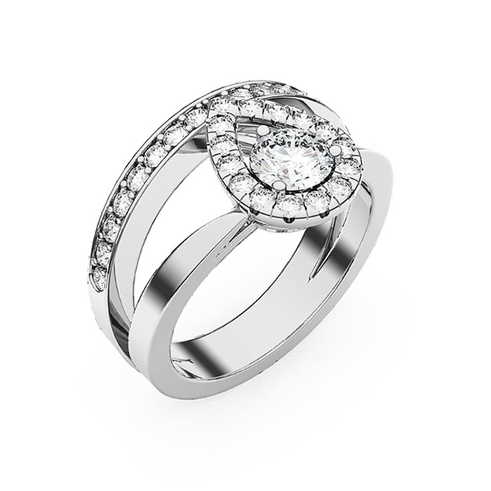 Ring Classics Diamond Gold TOGETHER AS ONE