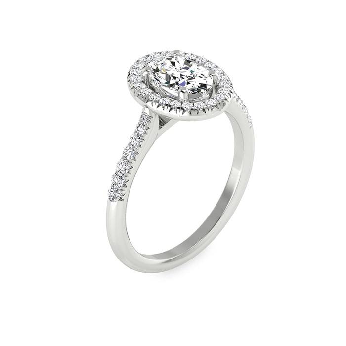 Ring Classics Diamond Gold OVAL