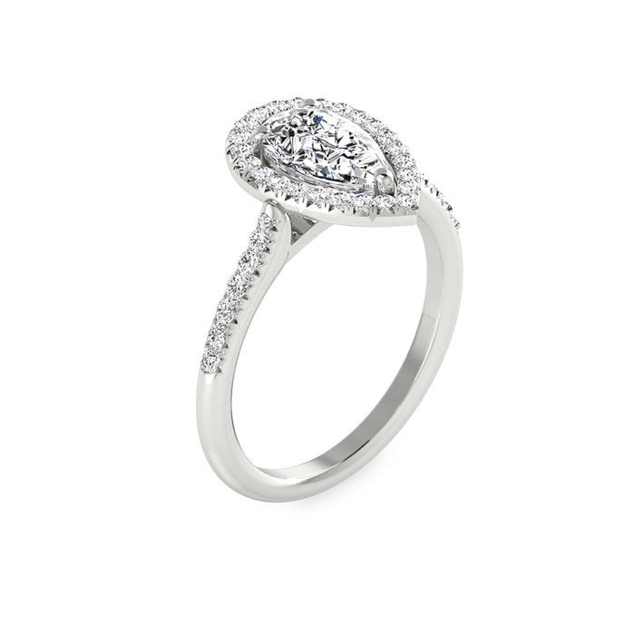 Bague  Classique  Diamant or POIRE