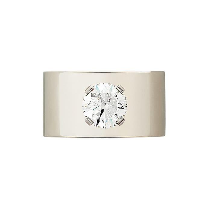 Ring Designer jewellery Diamond Gold EVIDENCE by Daniela Baumgartner