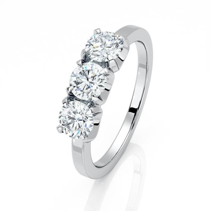 Ring Trilogy Diamond Gold TRILOGY 3